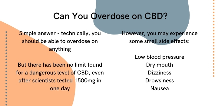 Can you overdose on CBD
