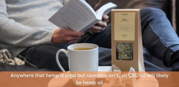 Hemp oil vs CBD oil - they're the same in countries where cannabis is illegal