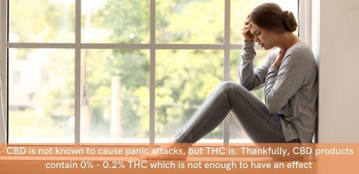 Does CBD cause panic attacks