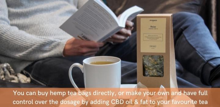 How to make CBD tea