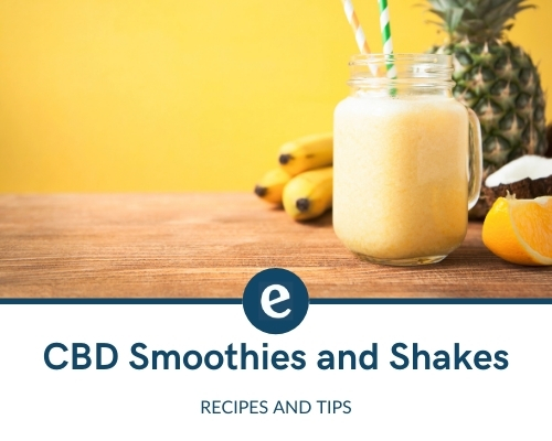 CBD smoothie and shakes recipes