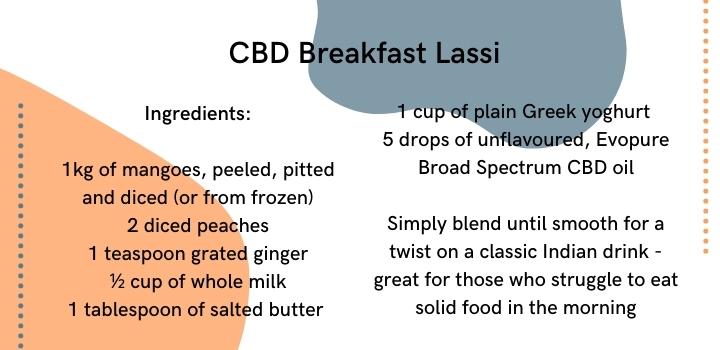Breakfast lassi cbd smoothie recipe