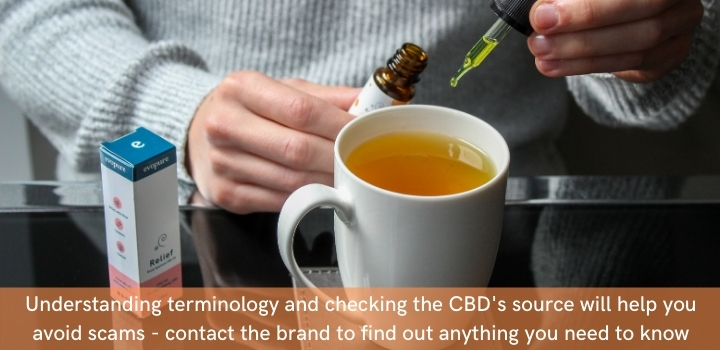 How to avoid CBD related scams