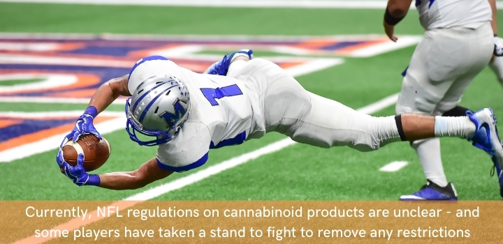 CBD oil regulations for NFL players