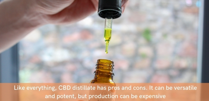 Pros and Cons of CBD Distillate