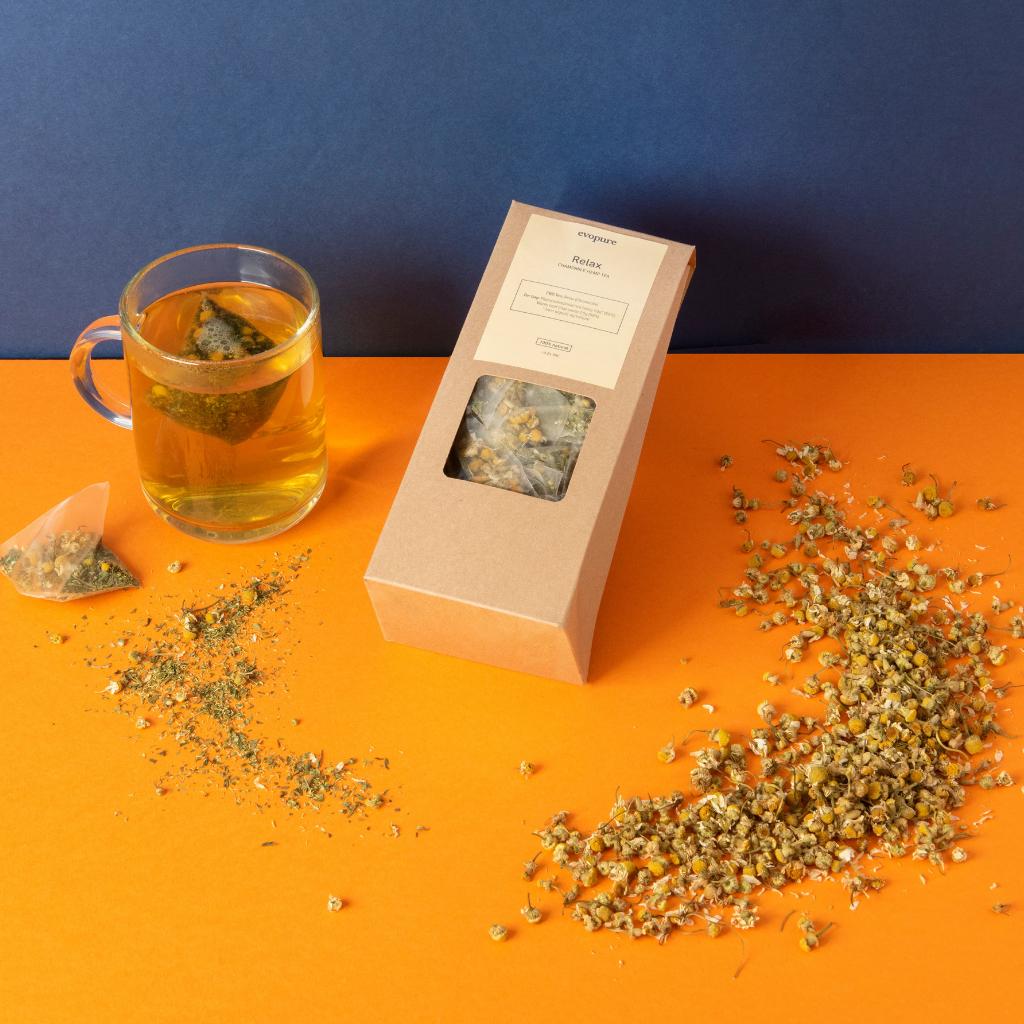 Chamomile hemp tea ingredients