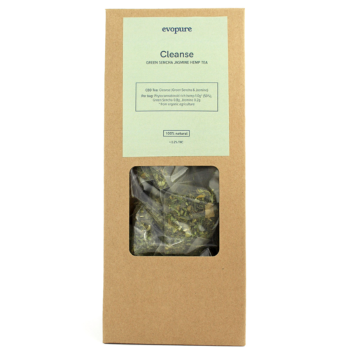 Green Sencha Hemp Tea