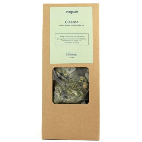 Green Sencha Hemp Tea