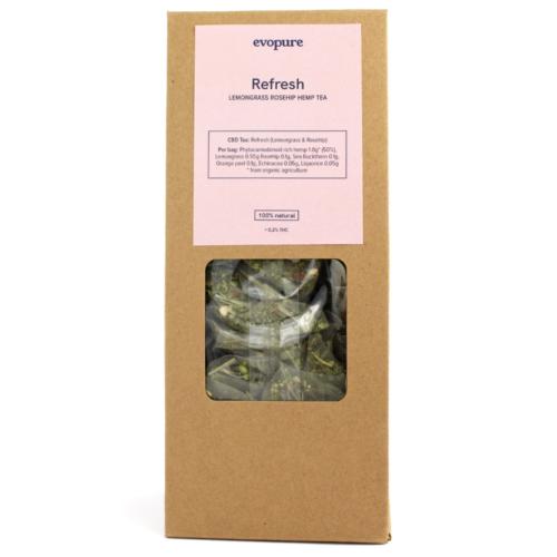 Lemongrass Rosehip Hemp Tea
