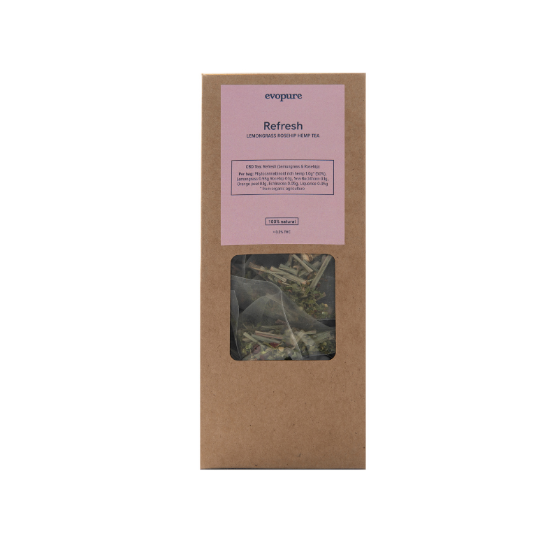 Evopure Lemongrass Hemp Tea