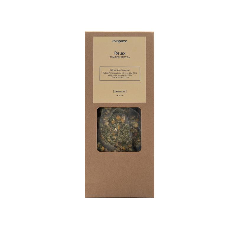 Evopure Chamomile Hemp Tea