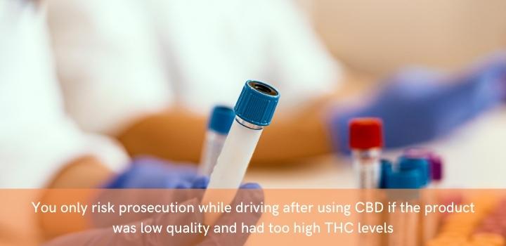 CBD Driving Drug Test