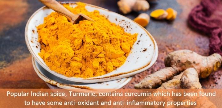 Turmeric - a natural, organic supplement