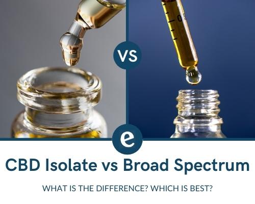 CBD Isolate vs Broad Spectrum