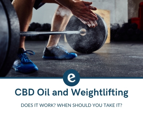 CBD oil and weightlifting