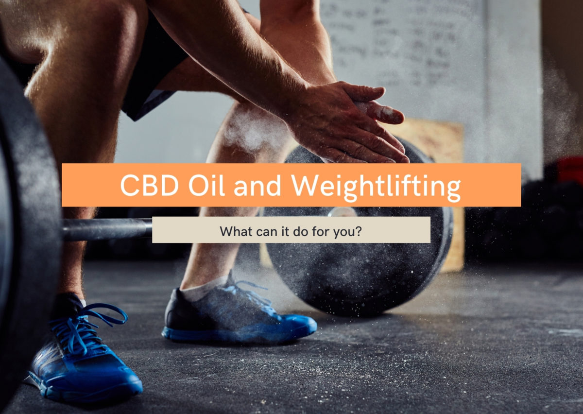 CBD oil for weightlifting
