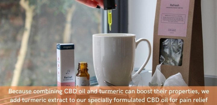 CBD oil and turmeric combined