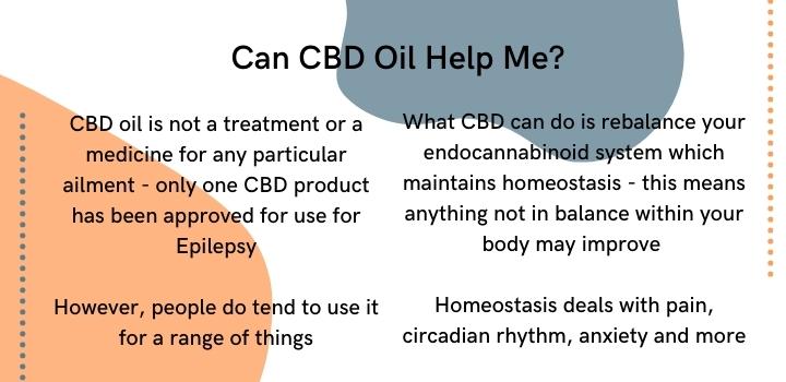 Can CBD oil help
