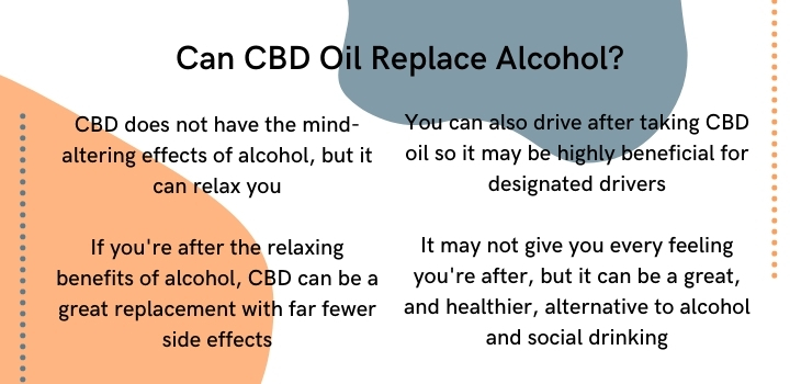 Can CBD oil replace alcohol