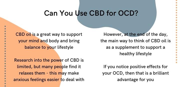 Can CBD oil for OCD work