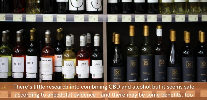 Can you add CBD oil to alcohol