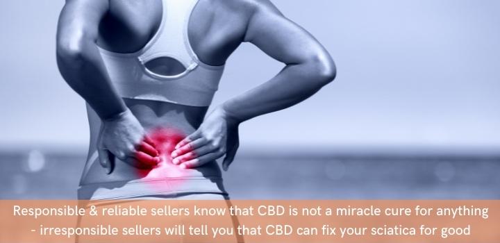 CBD oil for sciatica