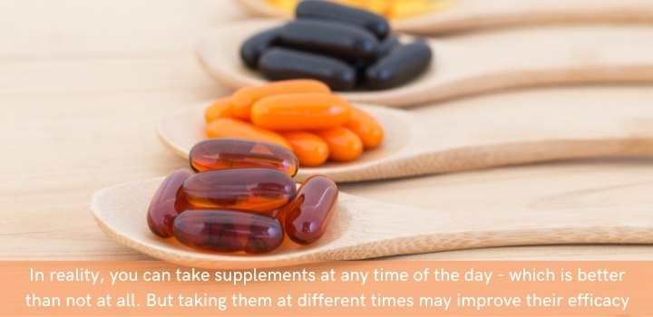 supplements to take in the day