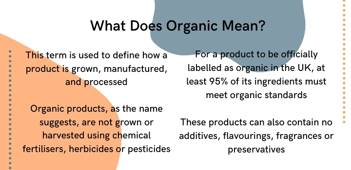 What does organic mean