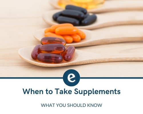 when to take different supplements