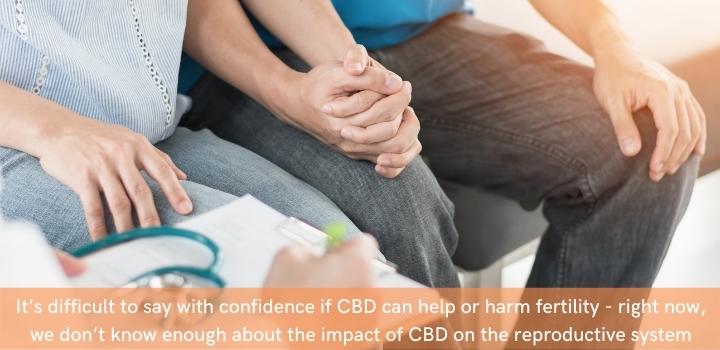 can CBD oil harm fertility