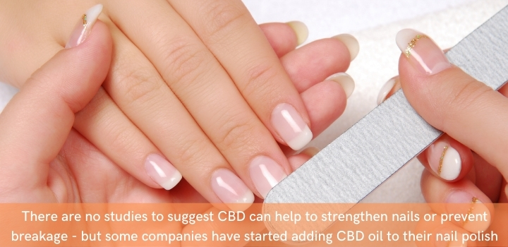 Does CBD strengthen your nails