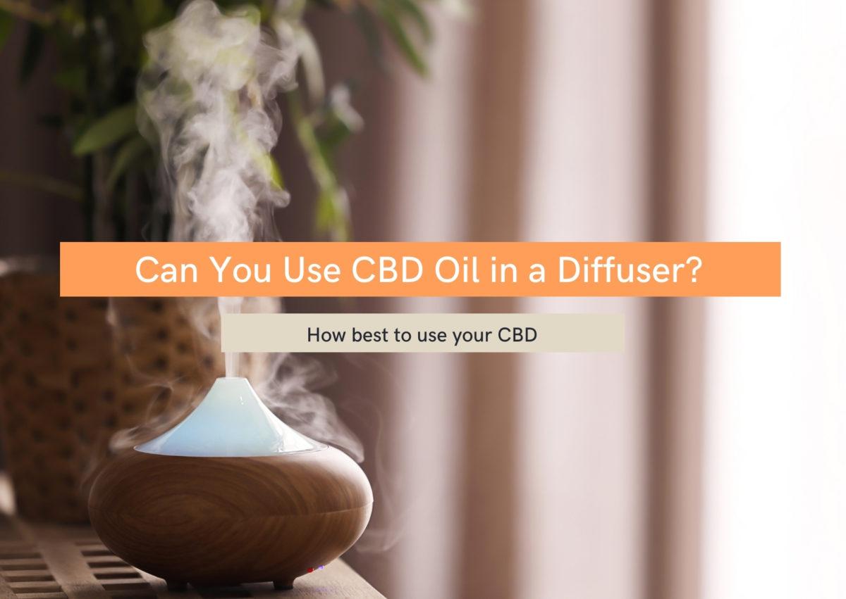Can you cbd oil in a diffuser