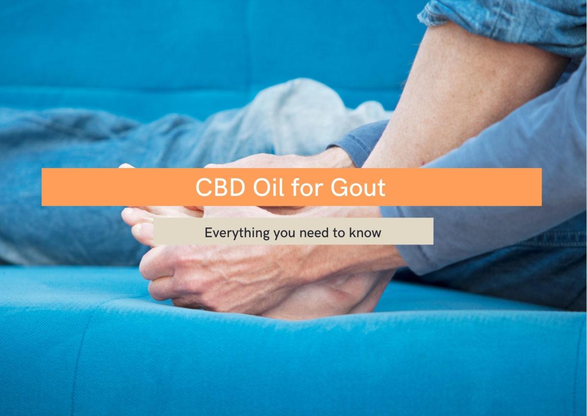 CBD oil for gout