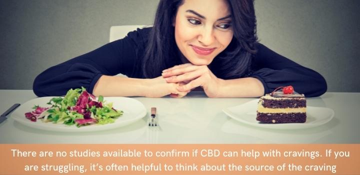Does CBD oil help cravings
