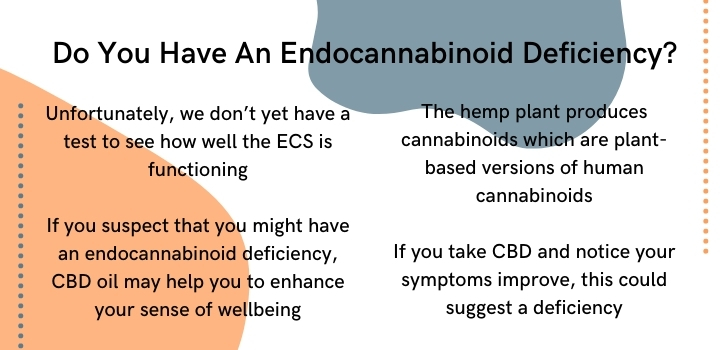 Is there a test for an endocannabinoid deficiency