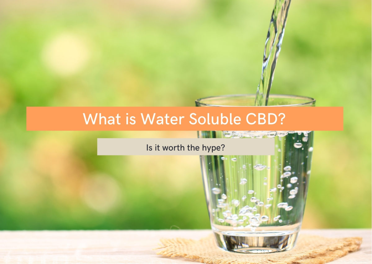 what is water soluble cbd